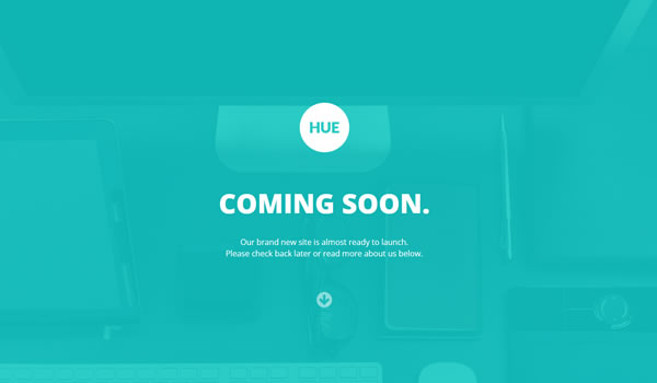 Responsive Coming Soon Page Templates Web Design Beat