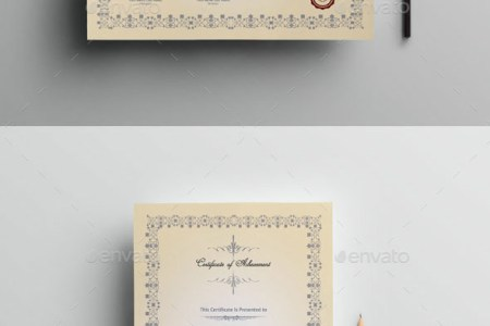 70  Best Certificate and Diploma Templates   Free and Premium Download Multipurpose Certificate Template V 02