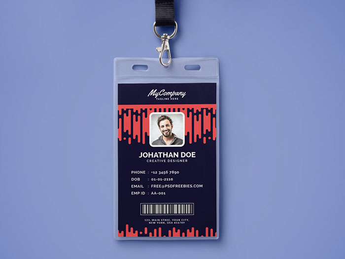 30 Best Id Card And Lanyard Templates 2019 Psd Vector