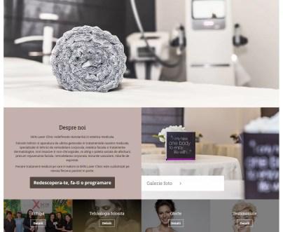 Realizare site clinica de infrumusetare Bucuresti