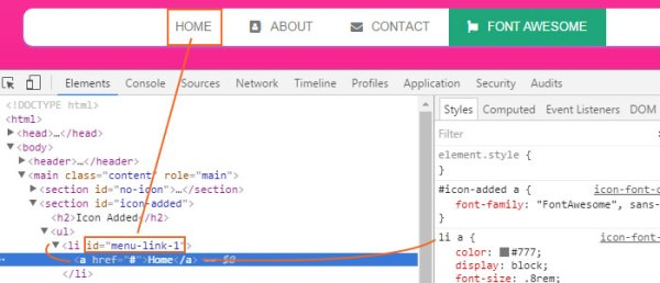 How to Add Icon Fonts to Any Element With CSS Web
