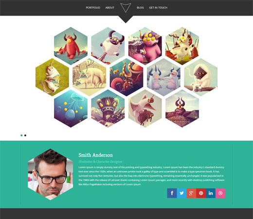Hexa-Free-Twitter-Bootstrap-Template