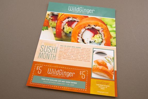 15-Restaurant Flyer