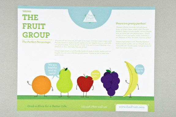 20 awesome examples of attractive flyer design flyer for Nutrition brochure template