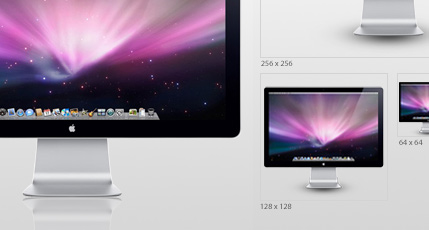 Apple LED 24 Display Icon