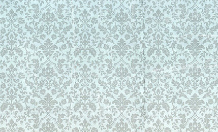 Wintry Damask Wallpaper