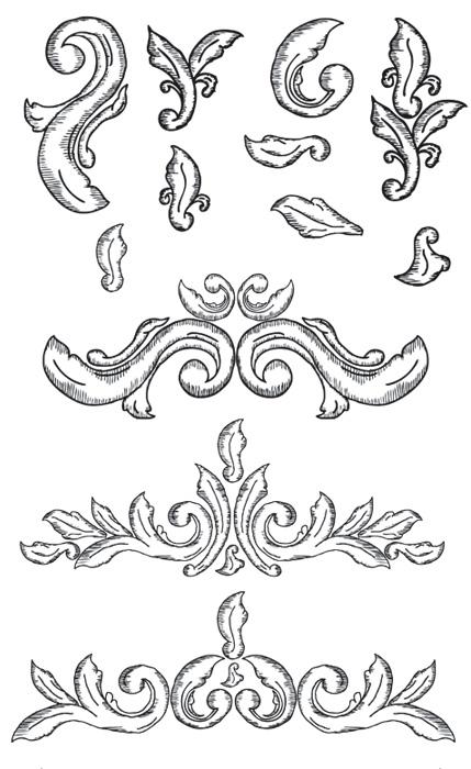 Hand Drawn Ornate Elements