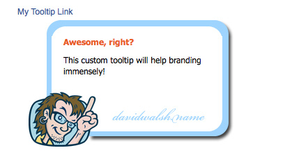 MooTools 1.2 Tooltips: Customize Your Tips