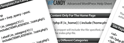 The Advanced WordPress Help Sheet