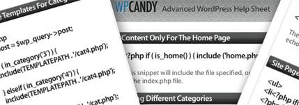 The Advanced WordPress Help Sheet