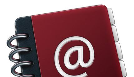 Create a Custom Mac OSX Style Ring Binder Address Book Icon