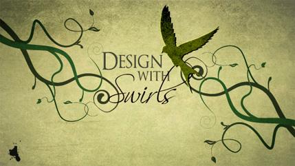 Design with Swirls and Flourishes
