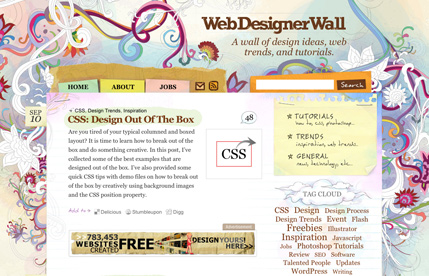 Hand Drawn Web Design
