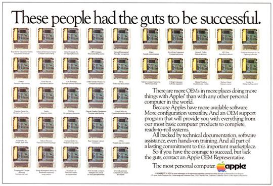 vintage apple advertisements