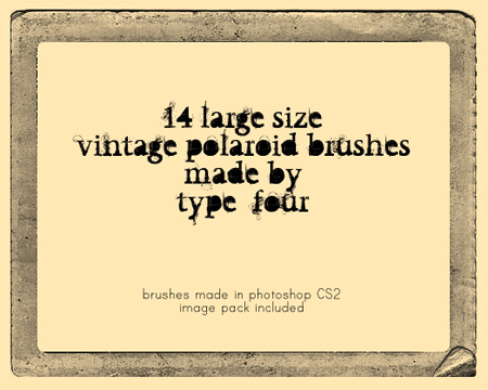vintage photoshop brushes