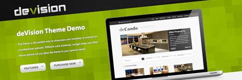 deVision: A Business WordPress Theme