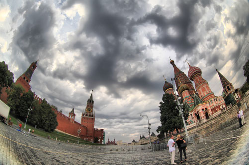 Red Square hdr