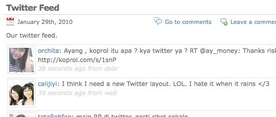 Tweet Blender