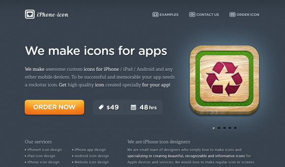 iPhone Icon Design