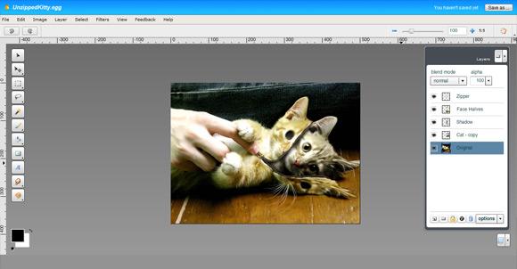 Aviaryís Image Editor