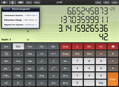 PCalc RPN Calculator