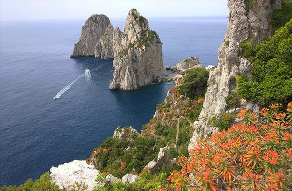 Seascape with Faraglioni