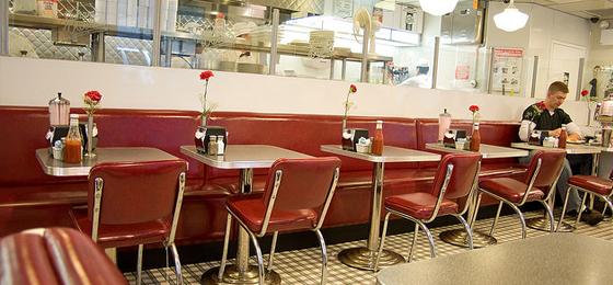 building relationships - 50s victor diner