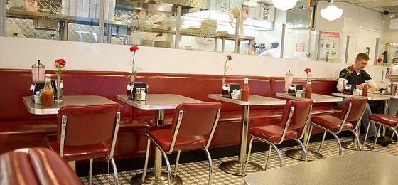 building relationships - 50s victor diner