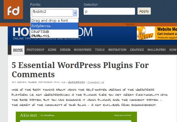 html5 Fonts