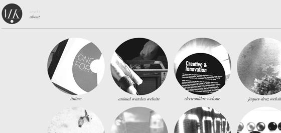 Mickael Larcheveque personal portfolio website