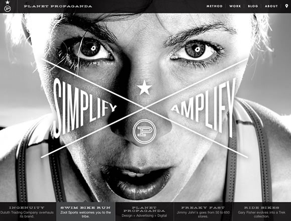 Big Photography in Web Design