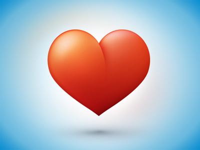 free heart icon icn psd