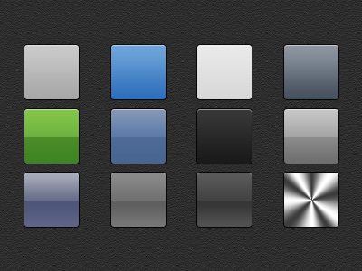 free photoshop apple style gradients psd