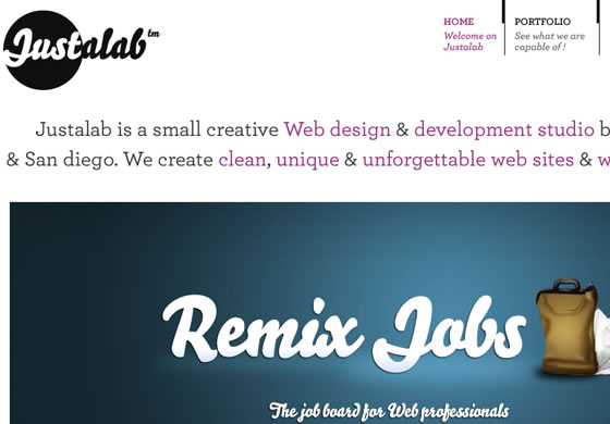 Justalab design agency based in Paris, France