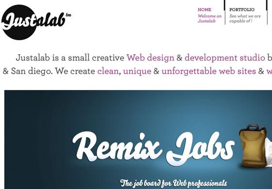 Justalab design agency based in Paris, France