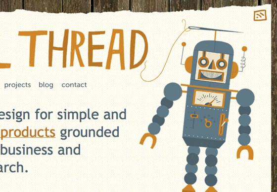 Pixel Thread web design