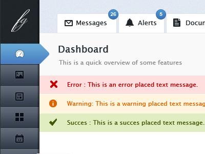 ux admin panel dashboard psd