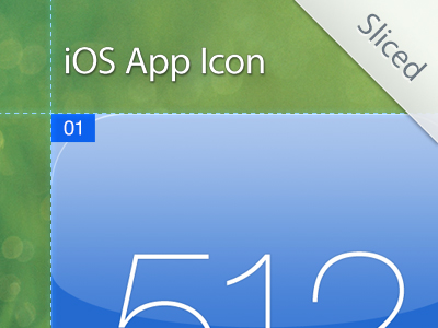iphone ipad app icon sizes template psd