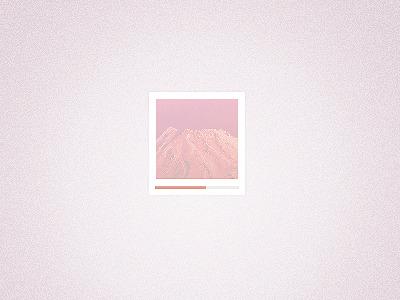 free pink photo frame download psd