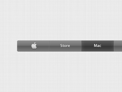 apple navigation bar website freebie download psd