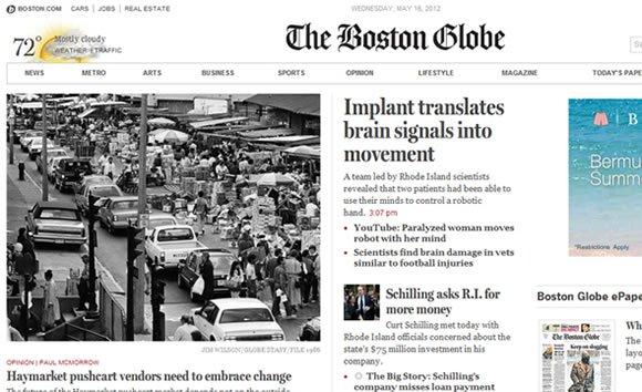The Boston Globe Online