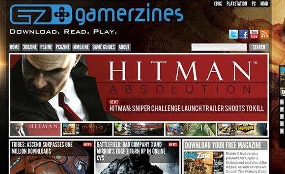 GamerZines online magazine publication