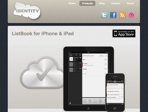 Inspiring iPhone and iPad App Websites