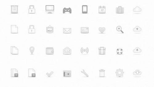 Soft Media Icons Vol. 1