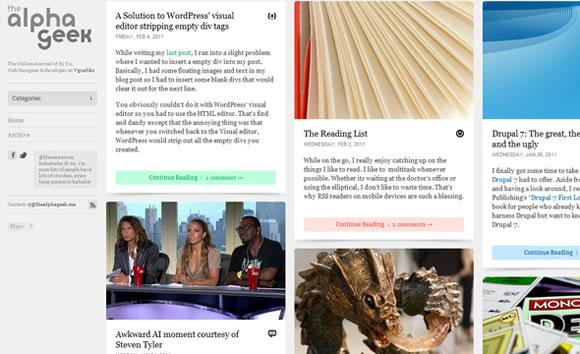 The Alpha Geek online web blog