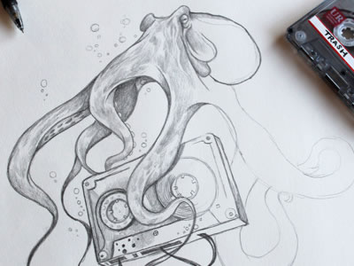 Inspiration: 23 Beautiful Drawings from Dribbble