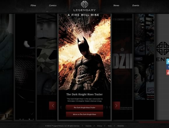 Dark Colors in Web Design