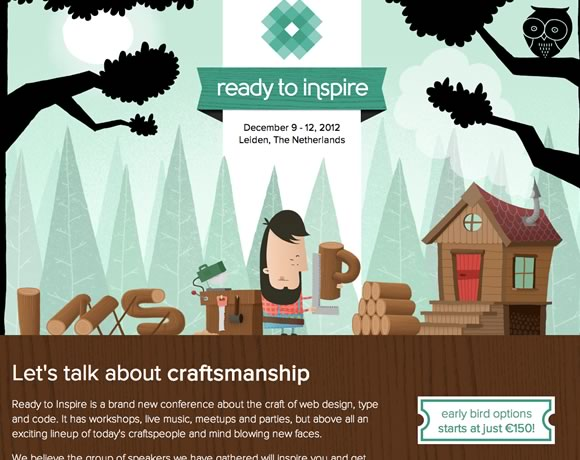 23 Great Examples of Illustrated Elements in Web Design