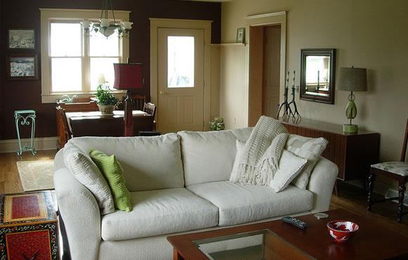 Fireplace room interior design