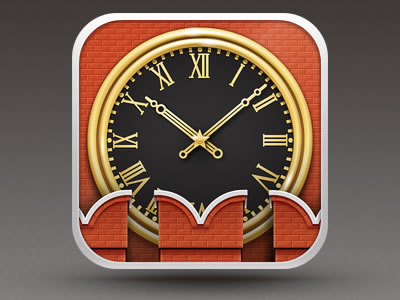 Kremlin iPhone iPad clock